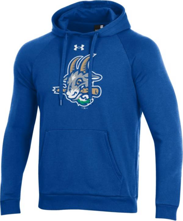 Under Armour Men's Hartford Yard Goats Blue Pullover Hoodie product image
