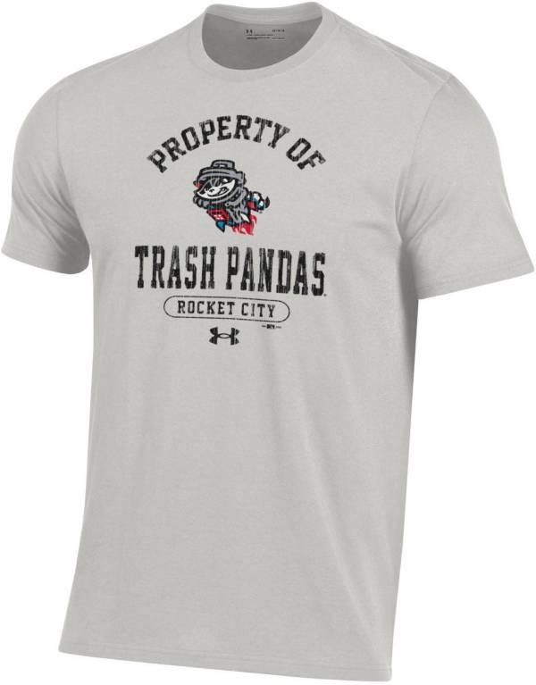 Under Armour Men's Rocket City Trash Pandas Grey T-Shirt product image