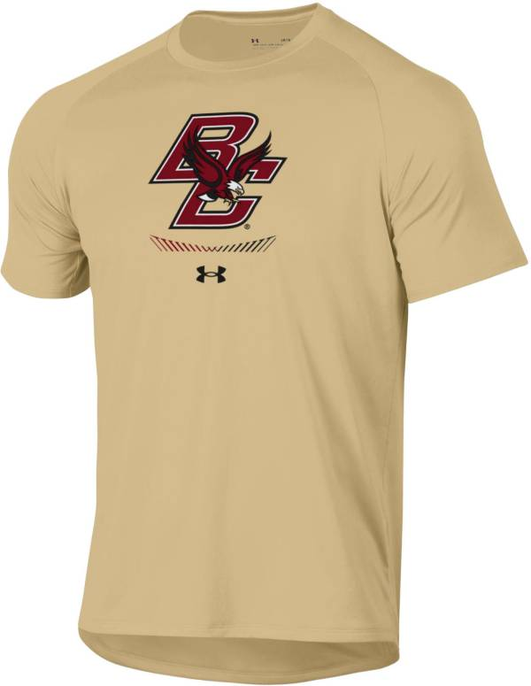 Under Armour Men's Boston College Eagles Gold Tech Performance T-Shirt product image