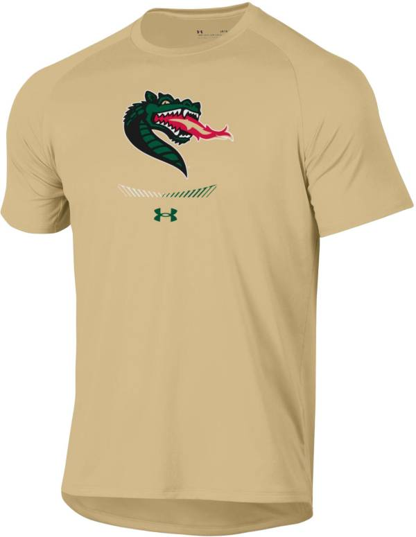Under Armour Men's UAB Blazers Gold Tech Performance T-Shirt product image