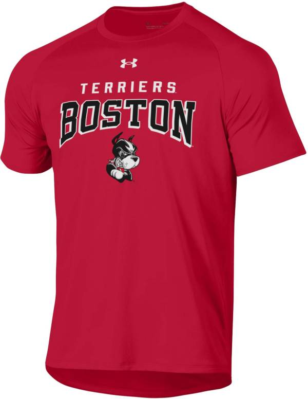 Under Armour Men's Boston Terriers Scarlet Tech Performance T-Shirt product image
