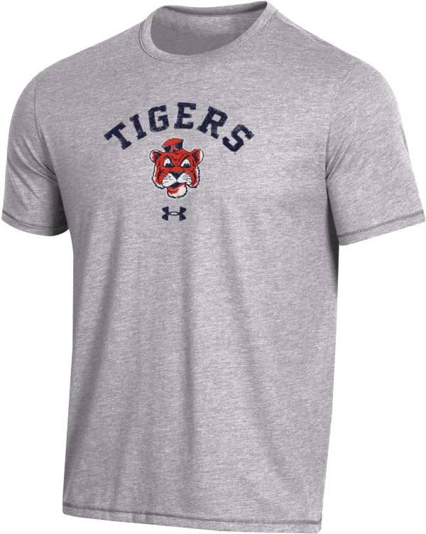 Under Armour Men's Auburn Tigers Grey Bi-Blend Performance T-Shirt product image
