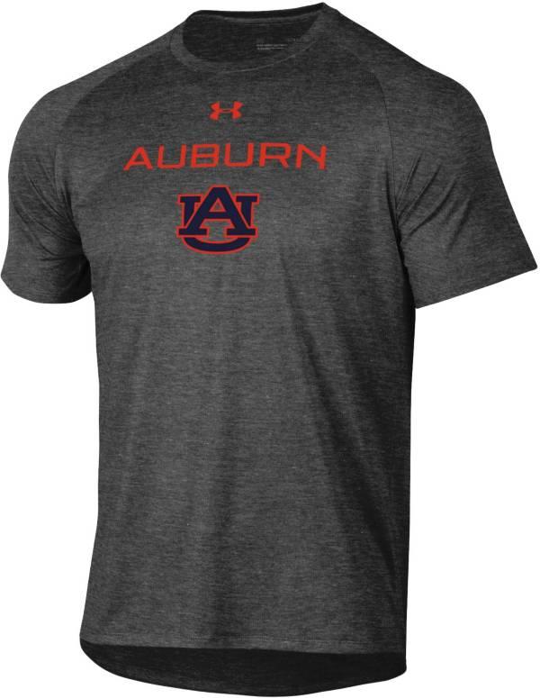 Under Armour Men's Auburn Tigers Grey Tech Performance T-Shirt product image