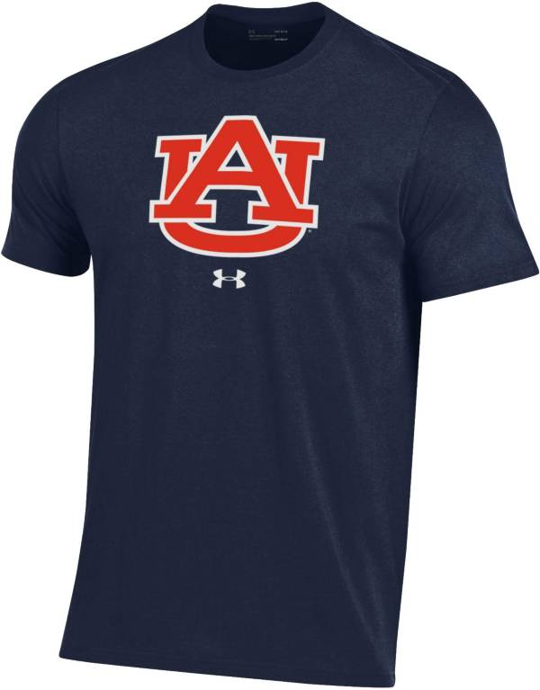 Under Armour Men's Auburn Tigers Blue Performance Cotton T-Shirt product image