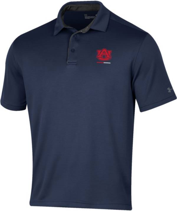 Under Armour Men's Auburn Tigers Blue Tech Polo product image