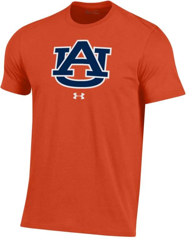Under Armour Men's Auburn Tigers Orange Performance Cotton T-Shirt product image