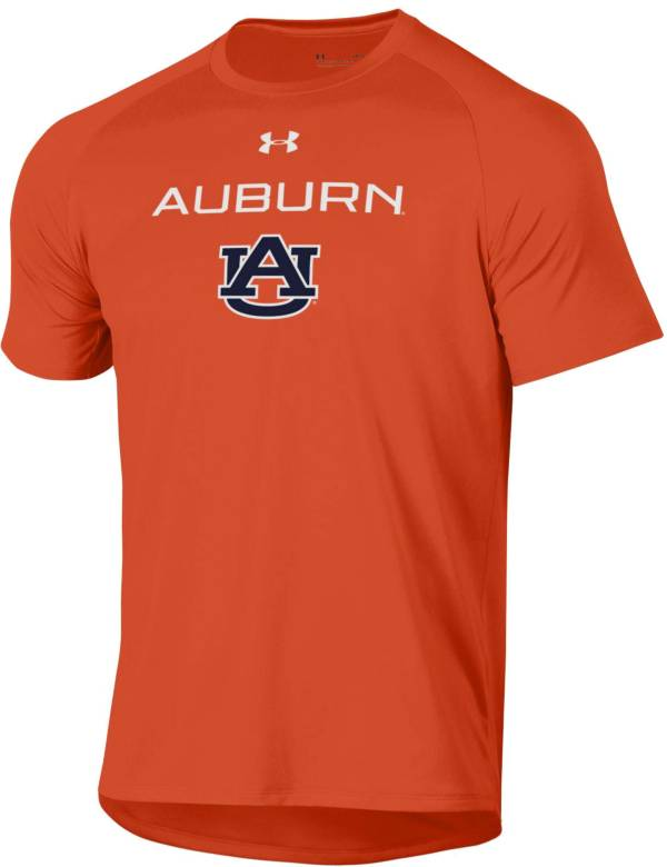 Under Armour Men's Auburn Tigers Orange Tech Performance T-Shirt product image