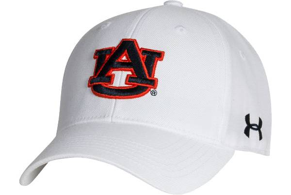 Under Armour Men's Auburn Tigers Adjustable White Hat product image