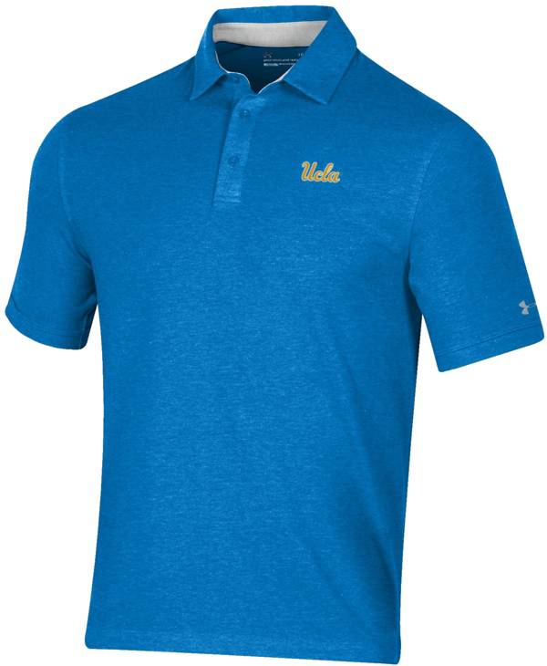 Under Armour Men's UCLA Bruins True Blue Charged Cotton Performance Polo product image