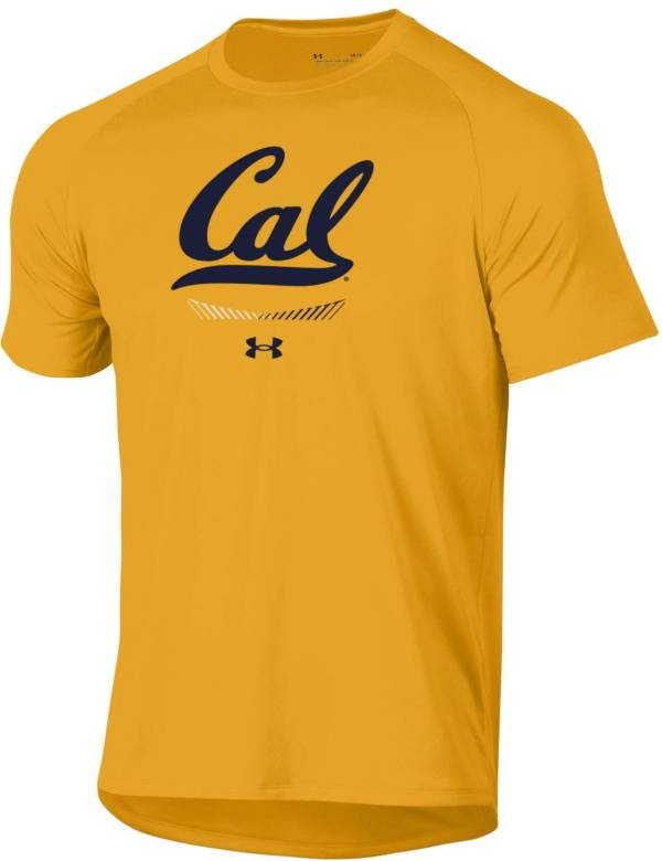 Under Armour Men's Cal Golden Bears Gold Tech Performance T-Shirt product image