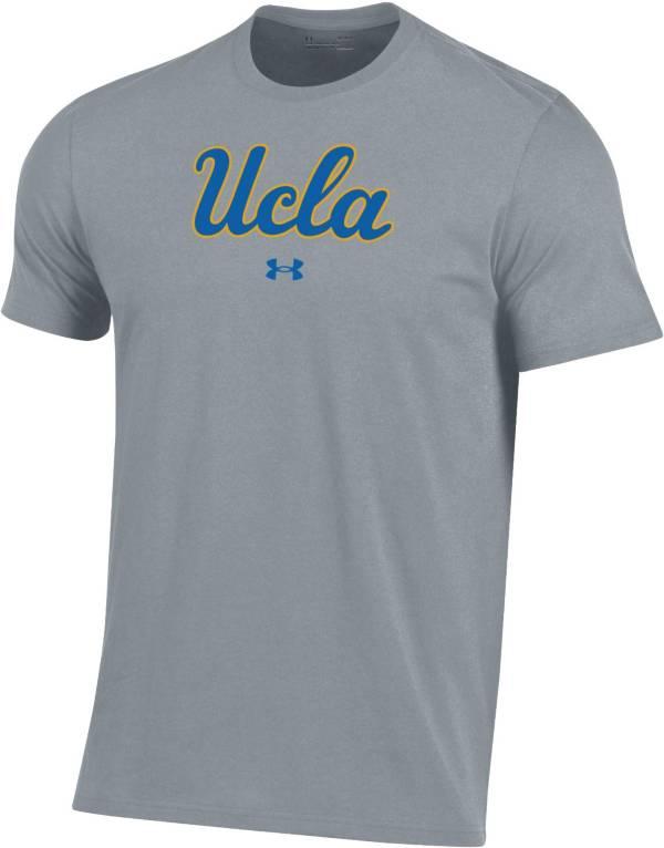 Under Armour Men's UCLA Bruins Grey Performance Cotton T-Shirt product image