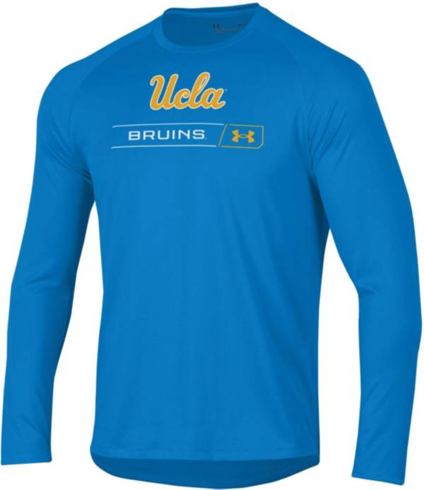 Under Armour Men's UCLA Bruins Blue Long Sleeve Tech Performance T-Shirt product image