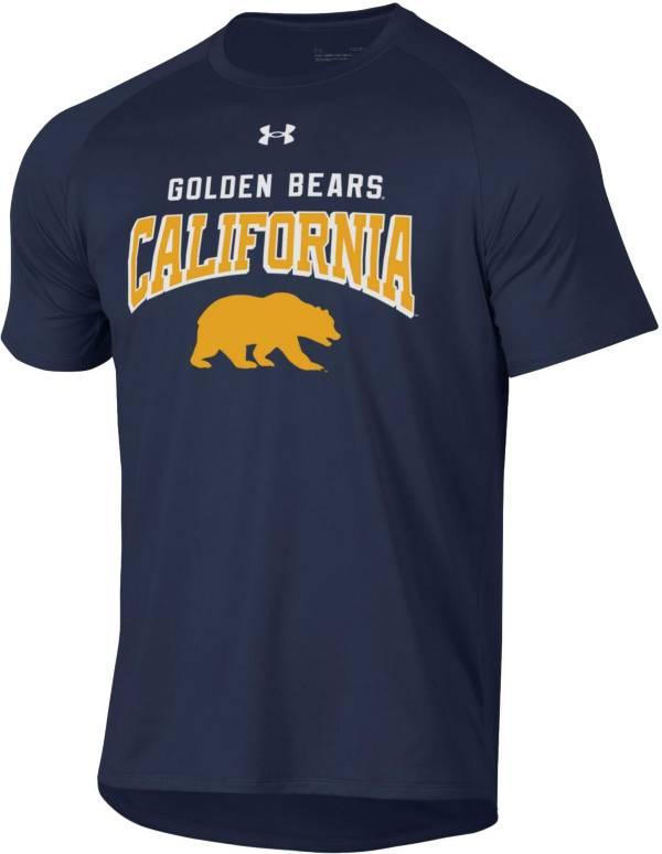 Under Armour Men's Cal Golden Bears Blue Tech Performance T-Shirt product image