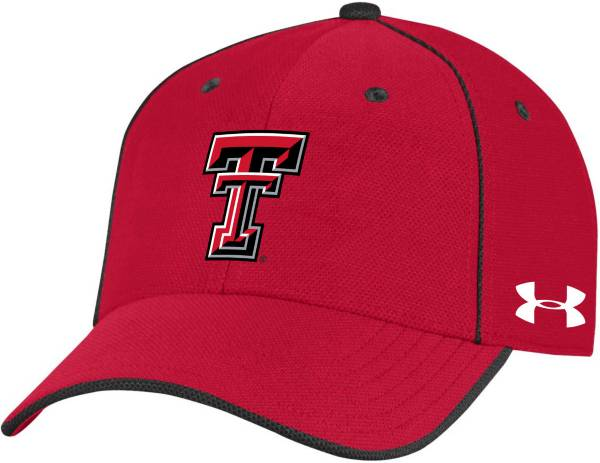 Under Armour Men's Texas Tech Red Raiders Red Isochill Adjustable Hat product image