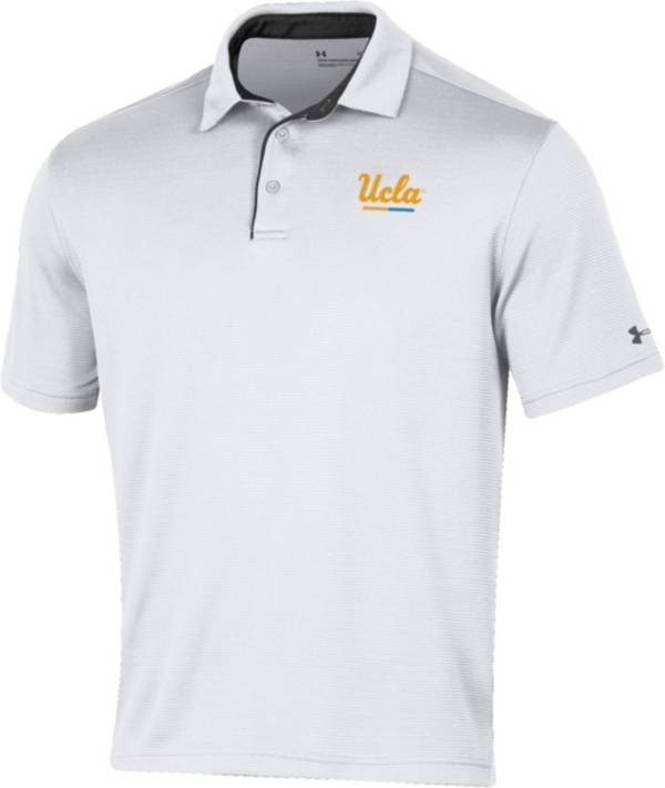 Under Armour Men's UCLA Bruins Tech White Polo product image