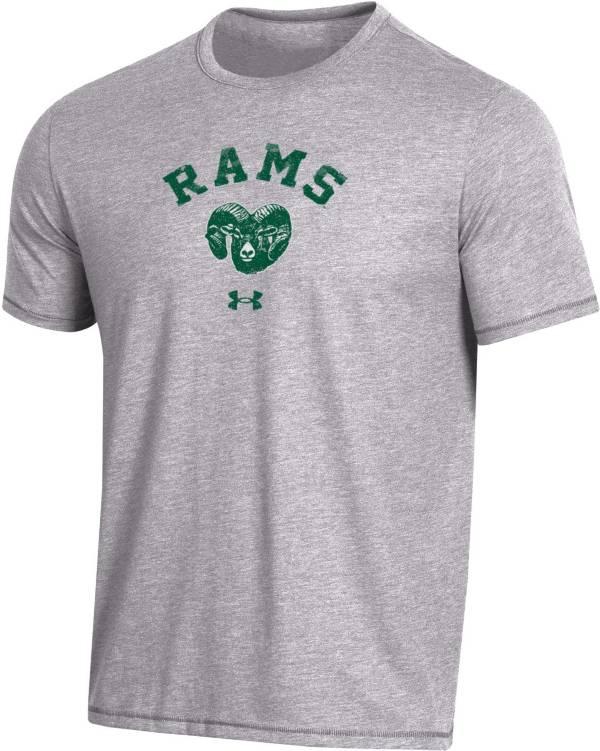 Under Armour Men's Colorado State Rams Grey Bi-Blend Performance T-Shirt product image