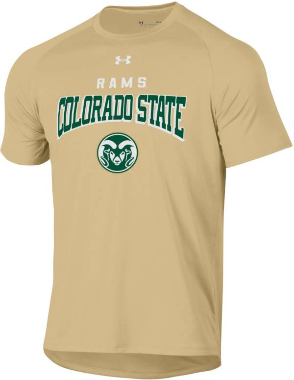 Under Armour Men's Colorado State Rams Gold Tech Performance T-Shirt product image