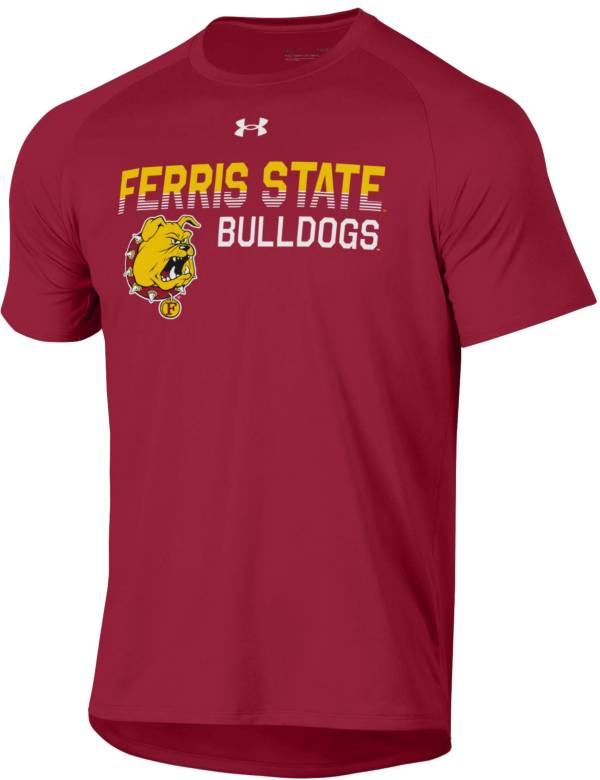 Under Armour Men's Ferris State Bulldogs  Crimson Tech Performance T-Shirt product image