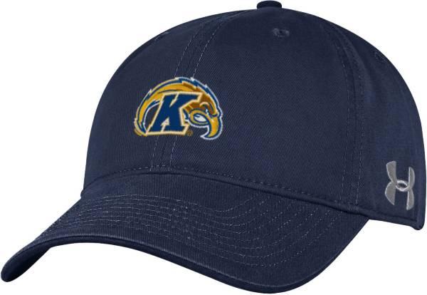 Under Armour Men's Kent State Golden Flashes Navy Blue Spectator Game Adjustable Hat product image