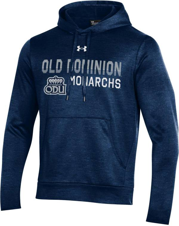 Under Armour Men's Old Dominion Monarchs Blue Armour Fleece Pullover Performance Hoodie product image