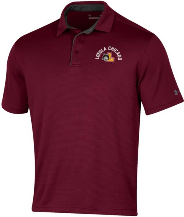 Under Armour Men's Loyola-Chicago Ramblers Maroon Tech Polo product image
