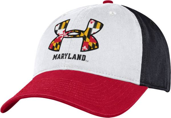 Under Armour Men's Maryland Terrapins 'Maryland Pride' Spectator Adjustable White Hat product image