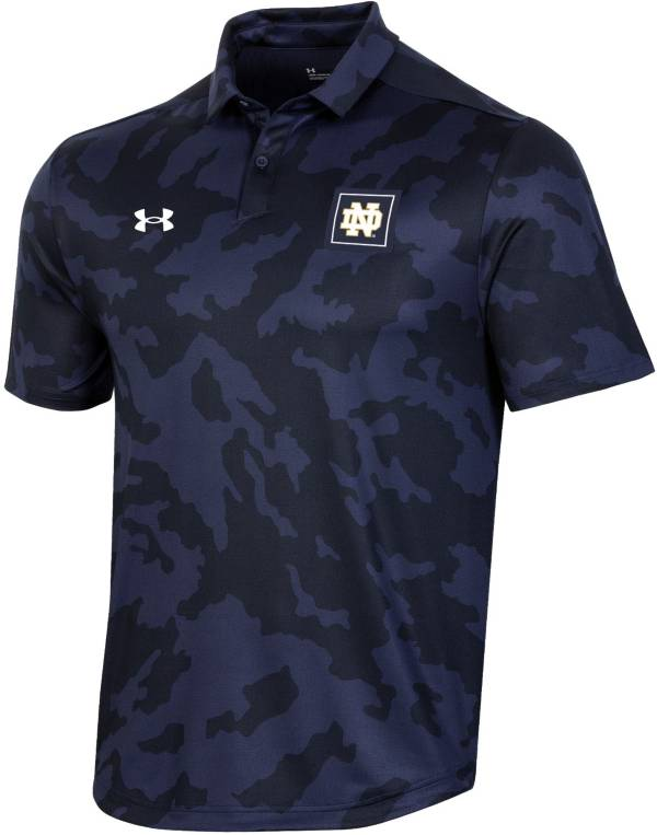 Under Armour Men's Notre Dame Fighting Irish Camo Athlete Performance Polo product image