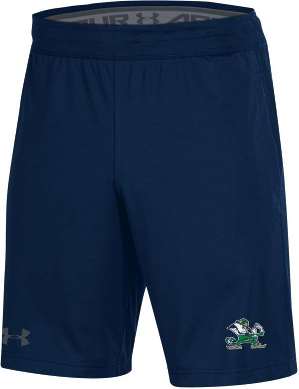 Under Armour Men's Notre Dame Fighting Irish Navy Raid Performance Shorts product image