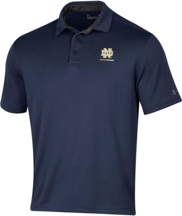 Under Armour Men's Notre Dame Fighting Irish Navy Tech Polo product image