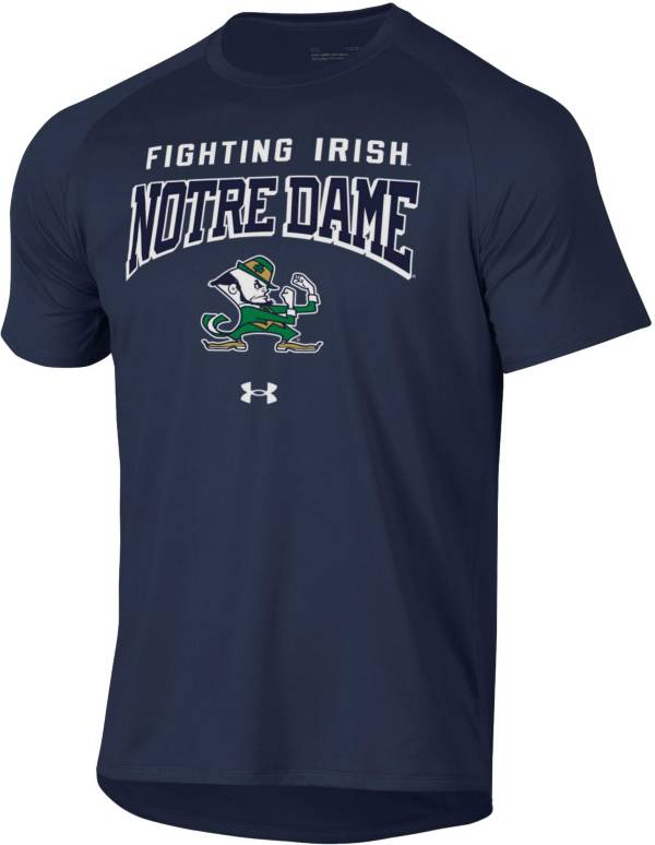 Under Armour Men's Notre Dame Fighting Irish Navy Tech Performance T-Shirt product image