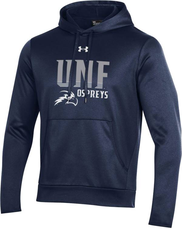 Under Armour Men's North Florida Ospreys Blue Armour Fleece Performance Hoodie product image