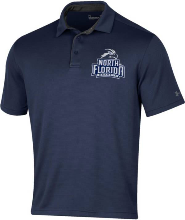 Under Armour Men's North Florida Ospreys Blue Tech Polo product image