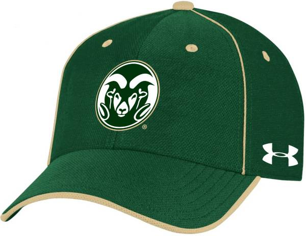 Under Armour Men's Colorado State Rams Green Isochill Adjustable Hat product image