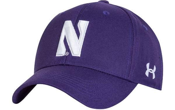 Under Armour Men's Northwestern Wildcats Purple Adjustable Hat product image