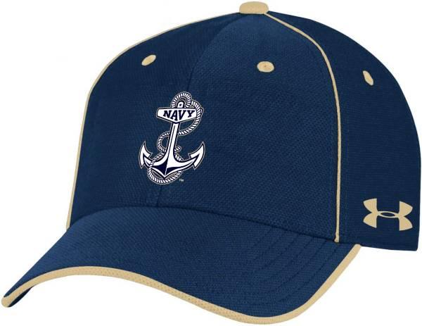 Under Armour Men's Navy Midshipmen Navy Isochill Adjustable Hat product image