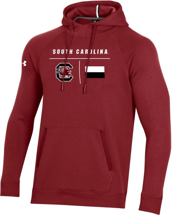Under Armour Men's South Carolina Gamecocks Garnet Campus Pullover Fleece Hoodie product image