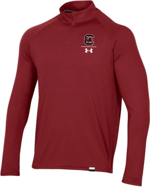 Under Armour Men's South Carolina Gamecocks Garnet Universal Lightweight Quarter-Zip Shirt product image
