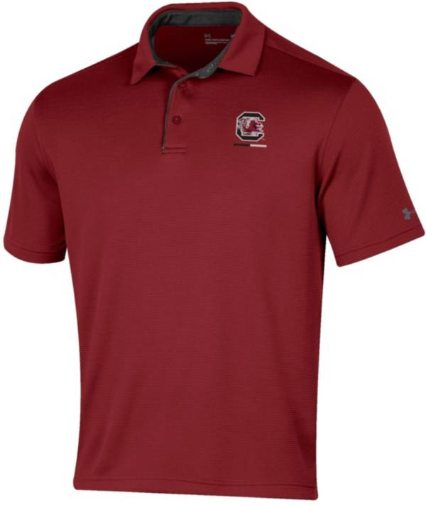 Under Armour Men's South Carolina Gamecocks Garnet Tech Polo product image