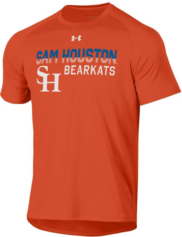 Under Armour Men's Sam Houston Bearkats Orange Tech Performance T-Shirt product image