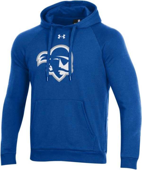 Under Armour Men's Seton Hall Pirates Blue All Day Hoodie product image