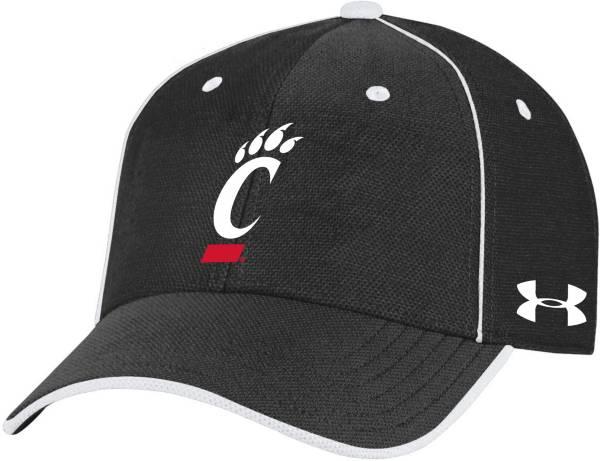 Under Armour Men's Cincinnati Bearcats Black Isochill Adjustable Hat product image