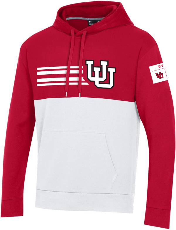 Under Armour Men's Utah Utes Crimson Throwback Pullover Hoodie product image