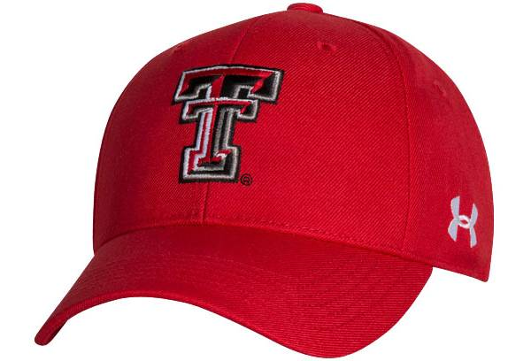 Under Armour Men's Texas Tech Red Raiders Red Adjustable Hat product image