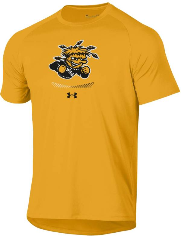 Under Armour Men's Wichita State Shockers Gold Tech Performance T-Shirt product image