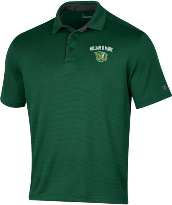 Under Armour Men's William & Mary Tribe Green Tech Polo product image