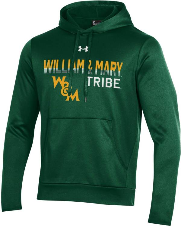 Under Armour Men's William & Mary Tribe Green Armour Fleece Performance Hoodie product image