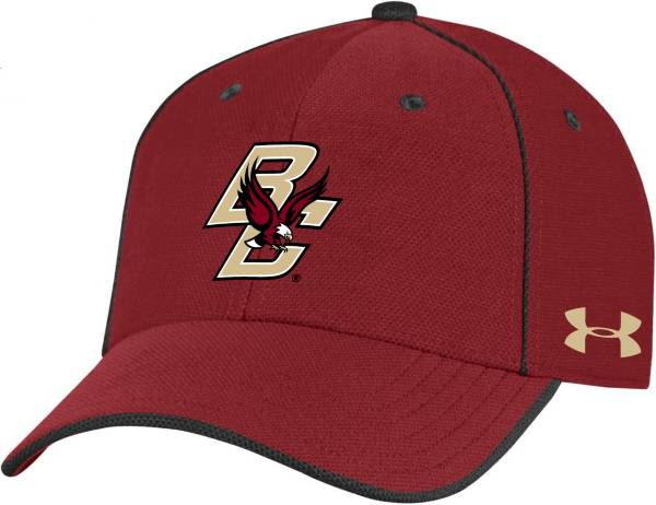 Under Armour Men's Boston College Eagles Maroon Isochill Adjustable Hat product image