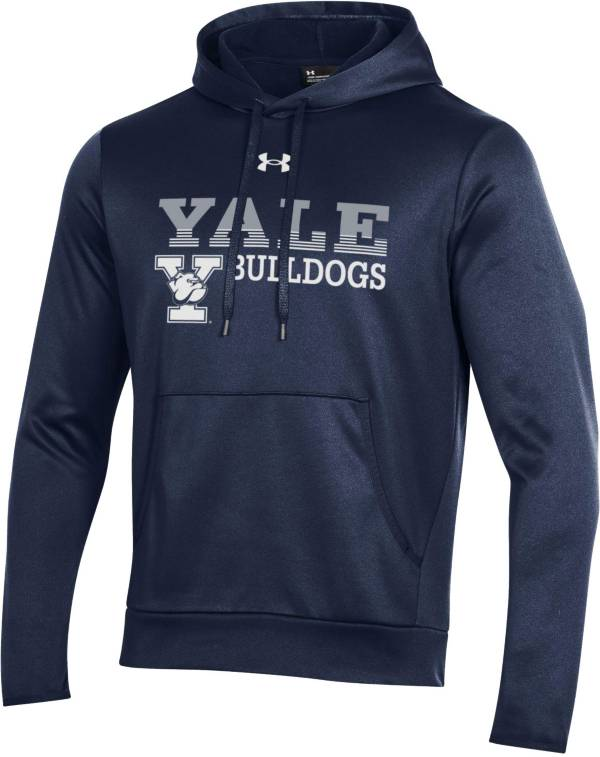 Under Armour Men's Yale Bulldogs Yale Blue Armour Fleece Performance Hoodie product image