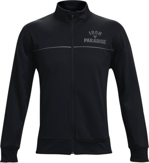 Under Armour Men's Project Rock Knit Track Jacket product image