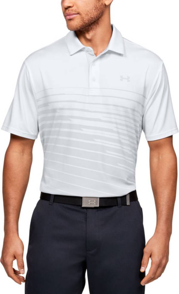 Under Armour Men's Playoff 2.0 Performance Stripe Golf Polo product image